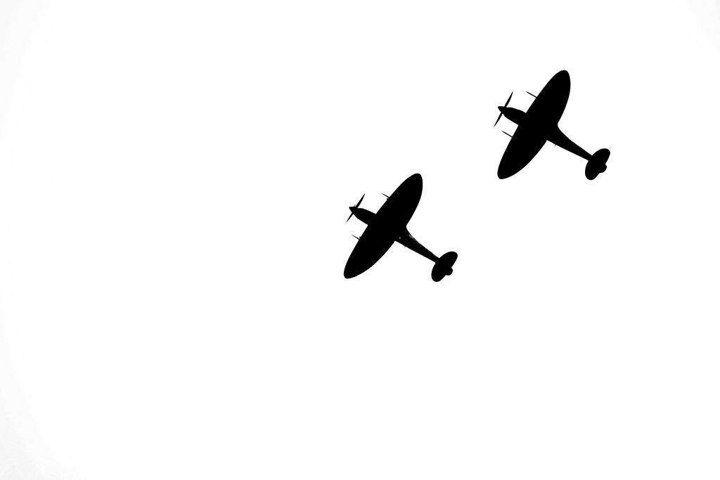 1024x683 Spitfire Silhouettes Real Photo Just Changed The Levels