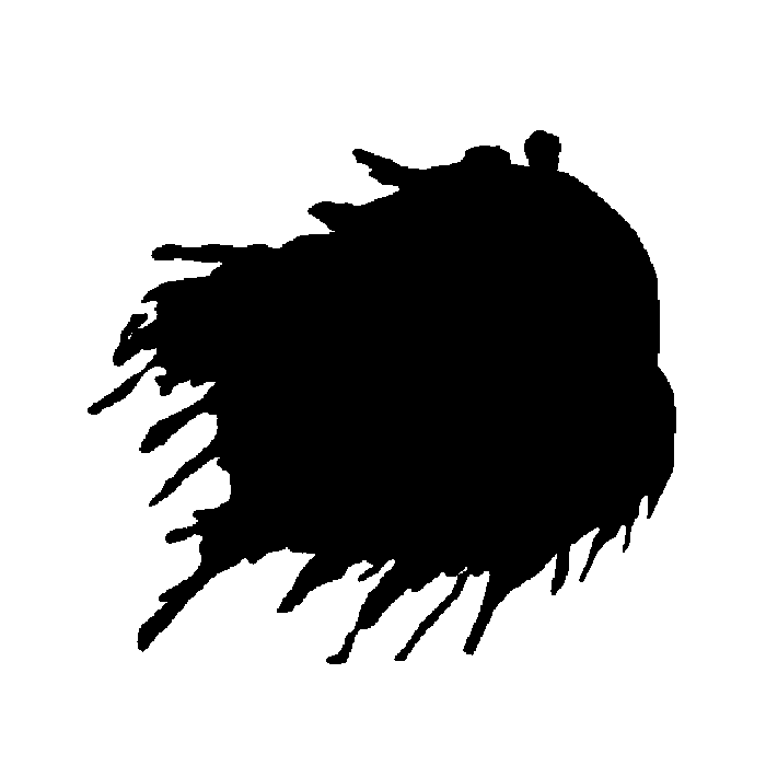 700x700 Free Silhouette Paint Splat images to cut for your layouts and