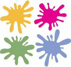236x224 Paint Splatter Clip Art Pinterest Paint splatter, Silhouette