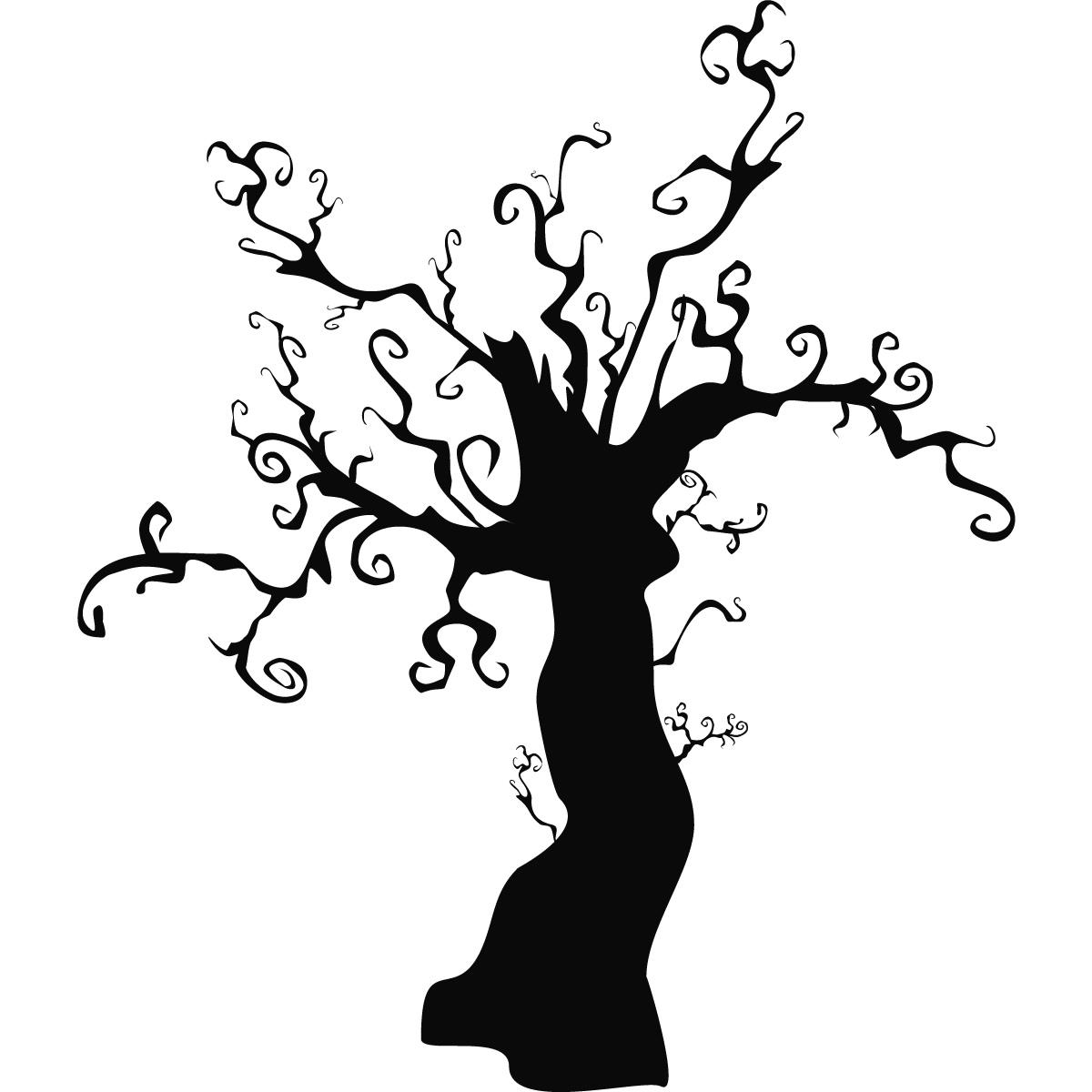 spooky halloween tree silhouette at getdrawings com free for rh getdrawings com Halloween Eye Makeup Clip Art Creepy Eyes Clip Art
