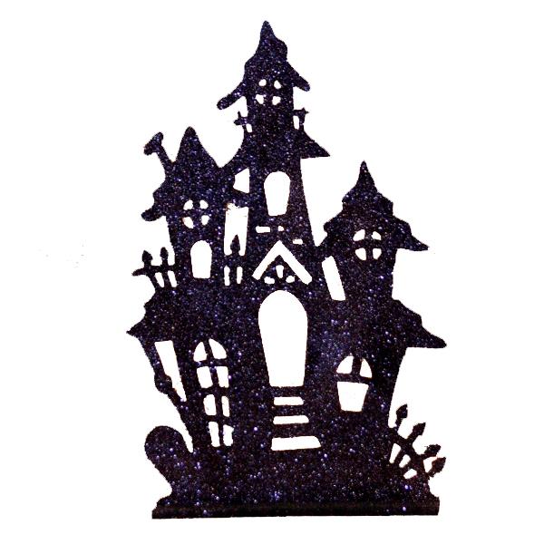 600x600 Spooky House Silhouette [Ha19] Timeless Charm, Home Page