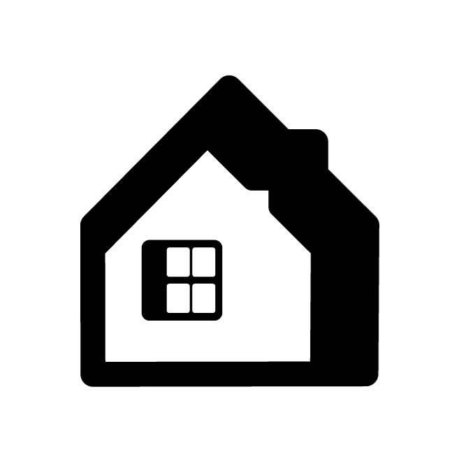 660x660 House Silhouette Free Vectors Ui Download