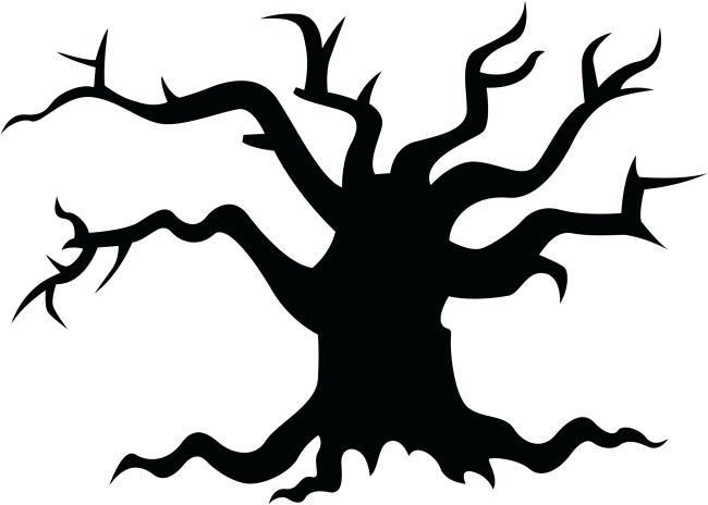 spooky tree silhouette at getdrawings com free for personal use rh getdrawings com Creepy Tree Art Scary Tree Silhouette