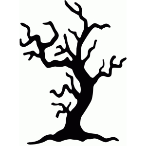 spooky tree silhouette at getdrawings com free for personal use