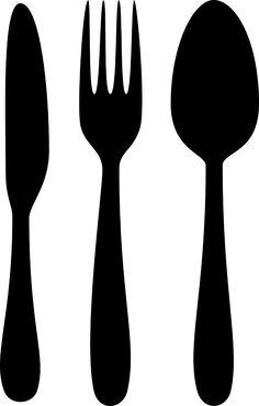 236x370 Decorative Cutlery Vinyl Decals Small By Burtonavenue On Etsy
