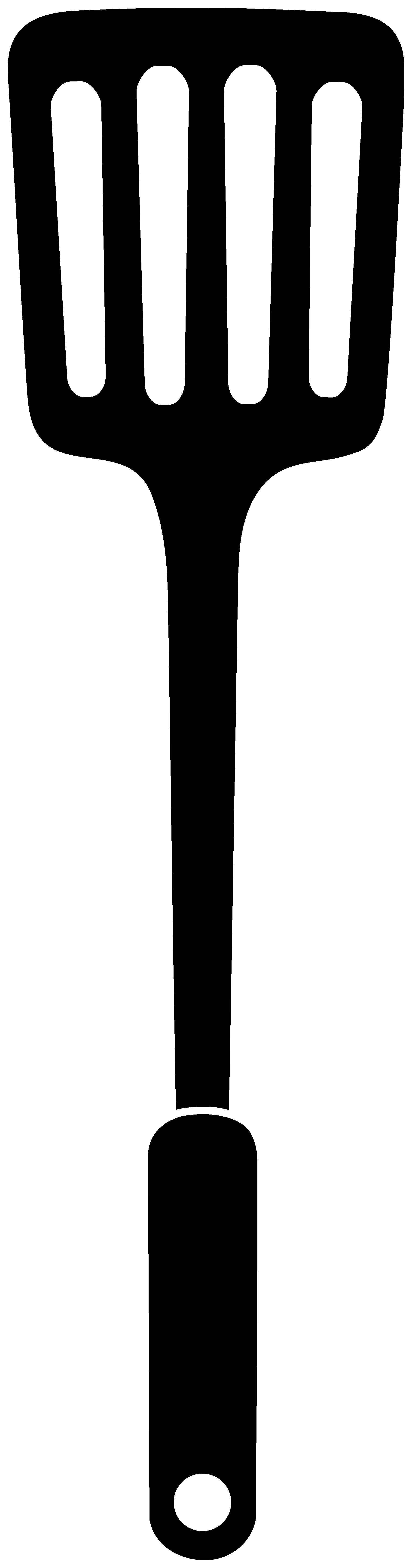 1783x6777 Drawn Spoon Silhouette