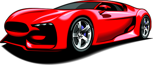 500x212 Vector Sport Car Silhouette Free Vector Download (9,231 Free