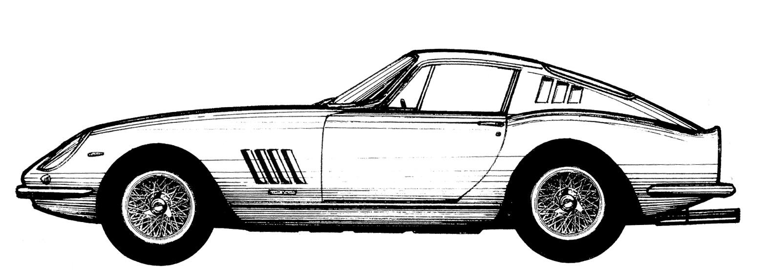 1576x552 Ferrari Silhouettes Sports And Gts Pt2