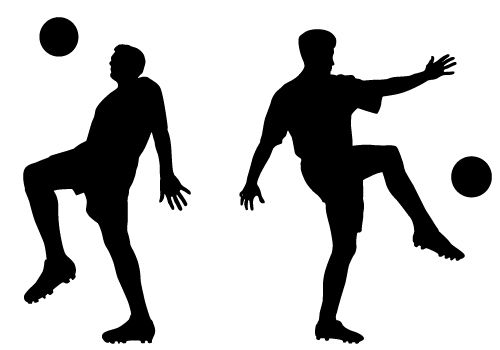 500x350 Silhouette Vector Blog Free Silhouette Illustration Sports