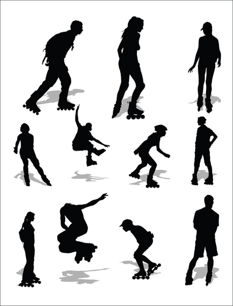 457x600 Sports Silhouette Clip Art Free Vector Download (215,492 Free