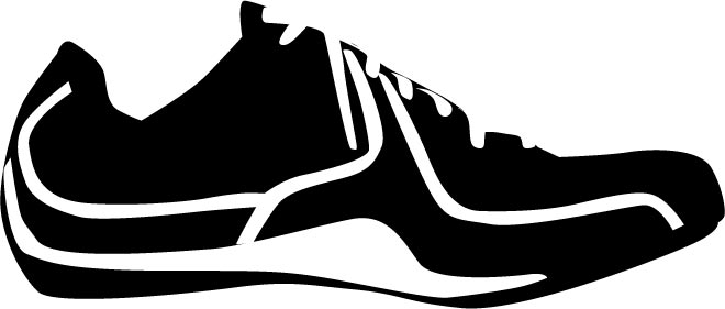 660x281 Shoes Vector Silhouettes