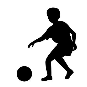 340x340 Free Silhouette Vector Icon, Catchball, Simple