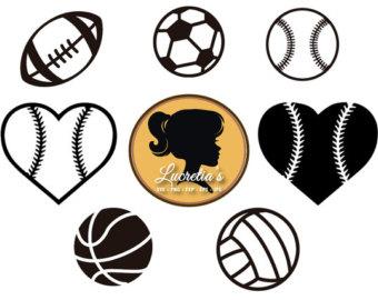 340x270 Soccer Ball Svg