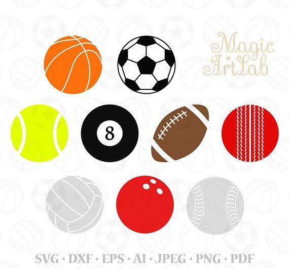 570x530 Sport Svg, Balls Clipart, Sport Balls Svg, Basketball Svg