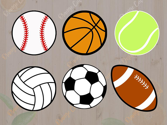 570x428 Sport Balls Svg Baseball Svg Basketball Soccer Tennis Svg