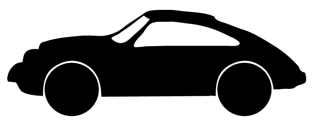 1049x425 Sports Car Silhouette Clip Art Cliparts