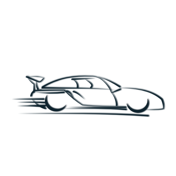 600x600 Free Sports Car Clipart, Hanslodge Clip Art Collection