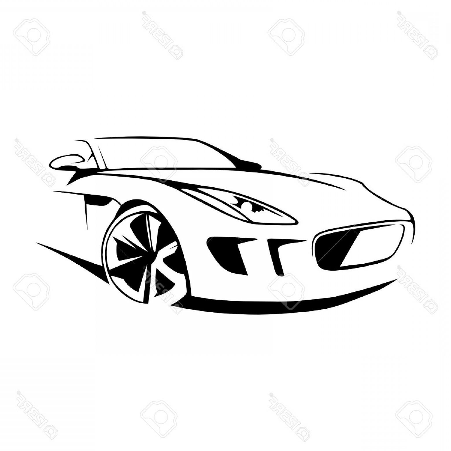 1560x1560 Photostock Vector Sports Car Silhouette Vector Createmepink