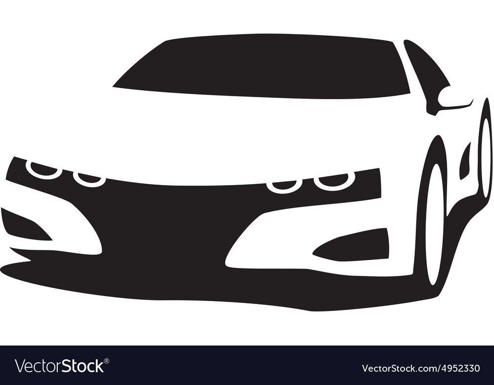 1000x780 Car Silhouette Vector My Car
