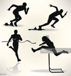 236x253 Free Download Track And Field Silhouette Clipart For Your Creation