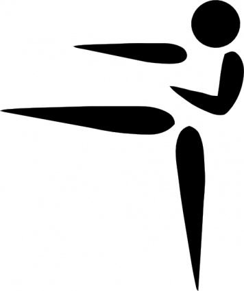 356x425 Olympic Sports Karate Pictogram Clip Art Vector, Free Vectors
