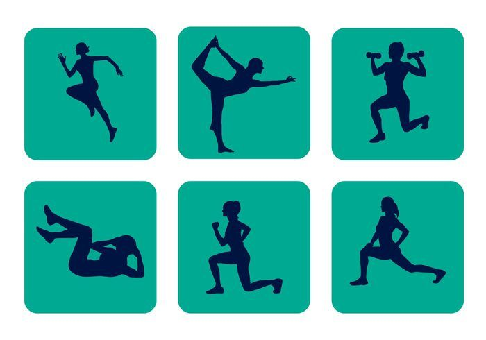 700x490 Vector Sport Silhouettes Socialy Silhouettes