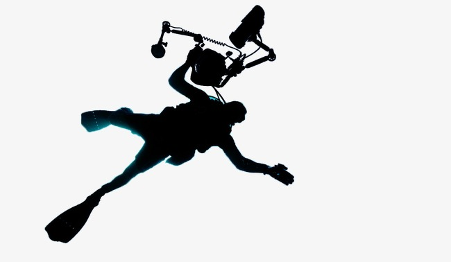 650x378 Diving, Silhouette Figures, Recreational Sports Png Image