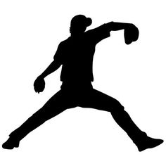 236x236 Baseball Player Silhouette Clipart Collection