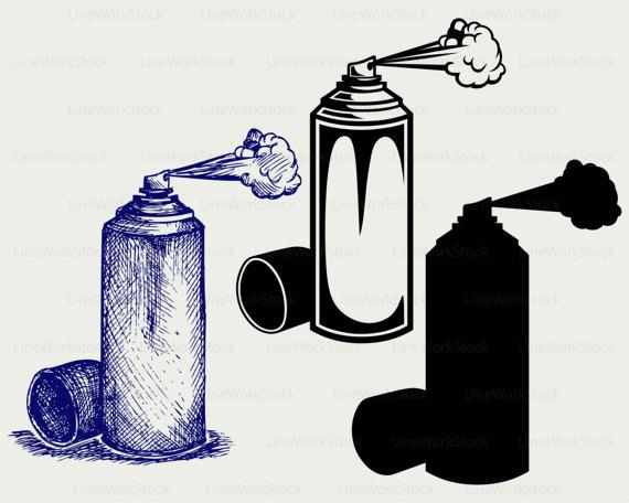 570x456 Spray Svgclipartspray Svgspray Silhouettespray Cricut Cut