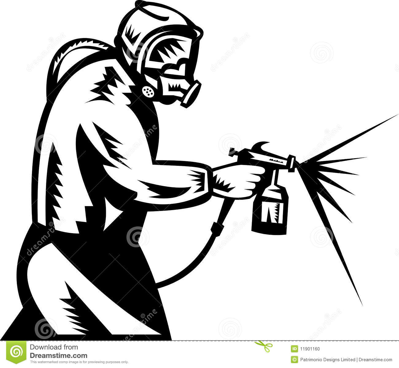 1300x1198 Gun Clipart Spray Painting