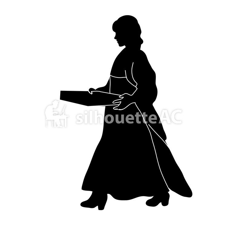 750x750 Free Silhouette Vector March, School, Spring
