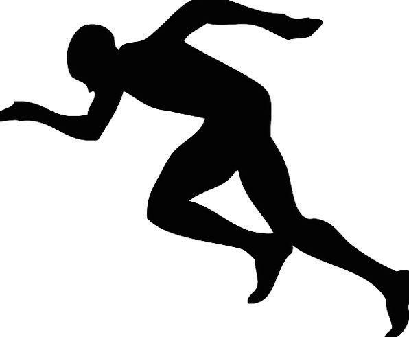 596x491 Runner, Sprinter, Sportsperson, Sprint, Dash, Athlete, Exercise
