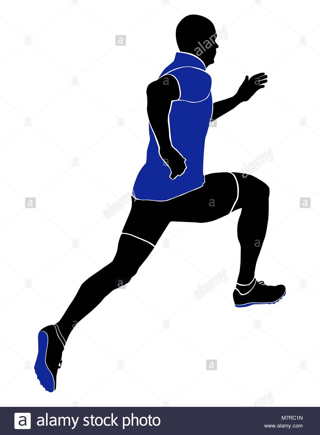 1021x1390 Sprinter Silhouette Runner Start Stock Photos Amp Sprinter
