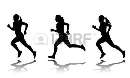 450x273 Image Result For Woman Sprinter Silhouette Silhouettes