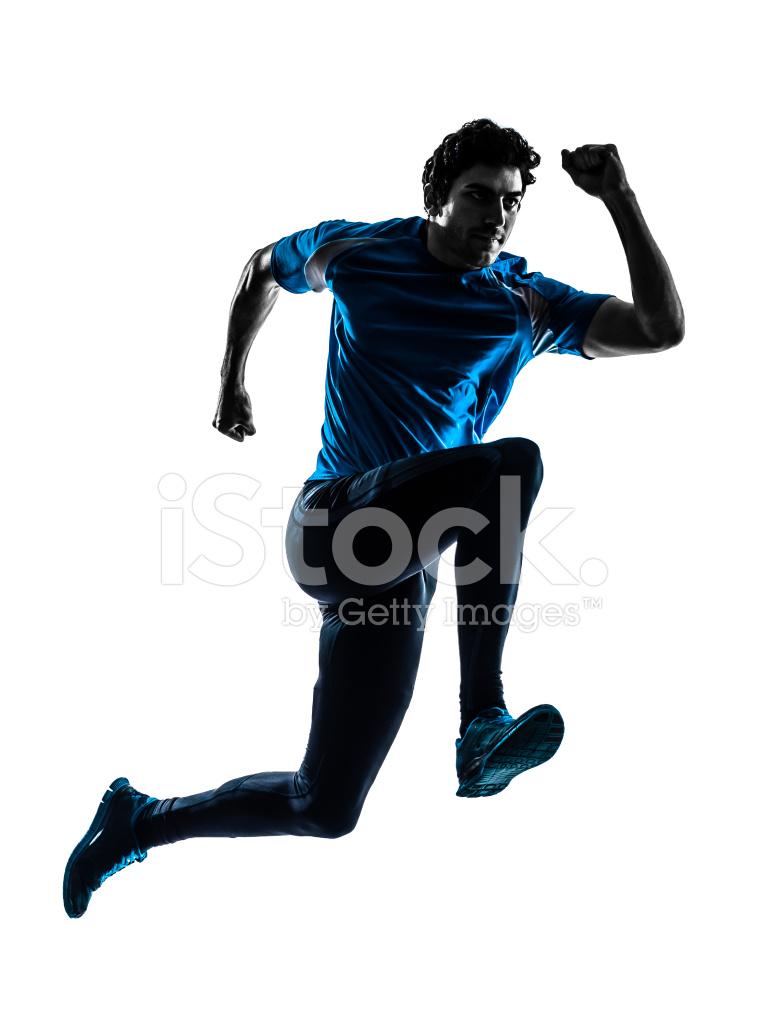 765x1024 Man Runner Sprinter Jogger Silhouette Stock Photos