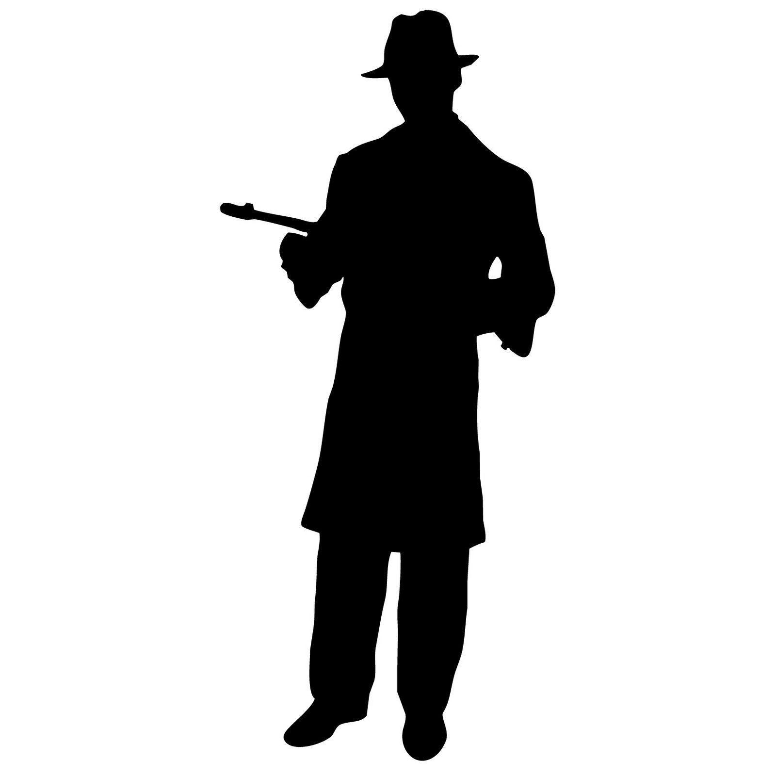 1600x1600 Gangsters Silhouette Clip Art