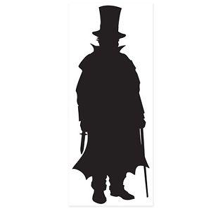 300x300 Spy Detective Party Plastic Villain Silhouette Outline Wall