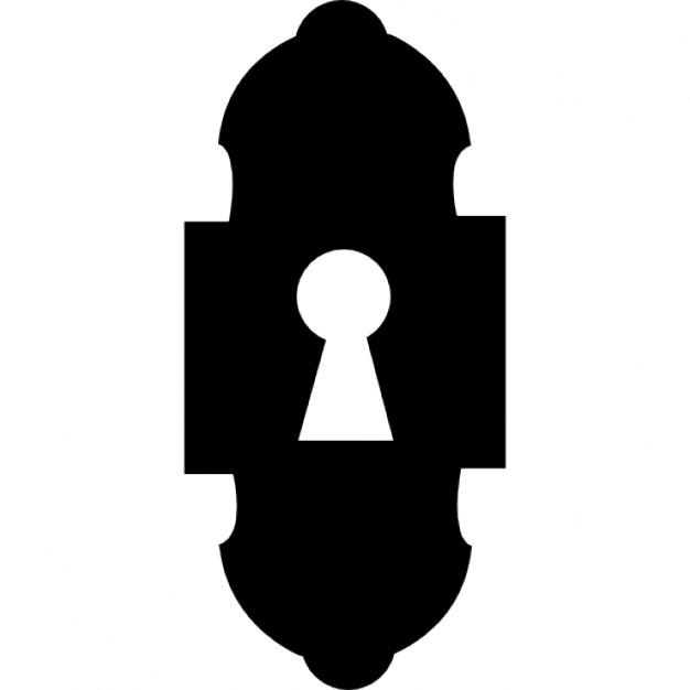 626x626 Key Hole Profile Clipart