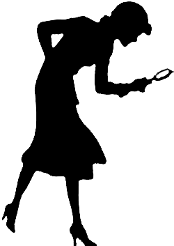 250x353 Nancy Drew Silhouette Clip Art Everything Is Evidence