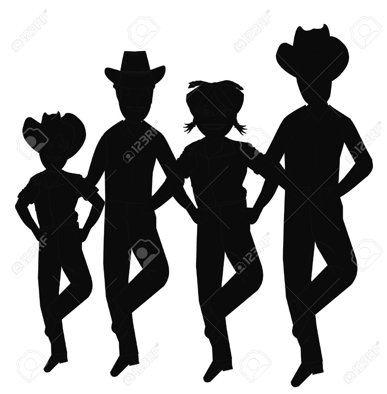 square dance silhouette clip art at getdrawings com free for rh getdrawings com free dance team clipart dance drill team clipart