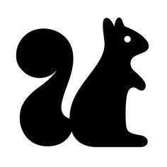 236x236 Squirrel%20silhouette Cameo Squirrel, Silhouettes