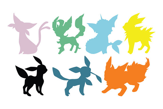 The best free Eevee silhouette images  Download from 21 free
