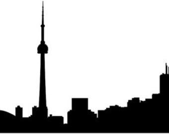 340x270 Skyline Clipart Cn Tower