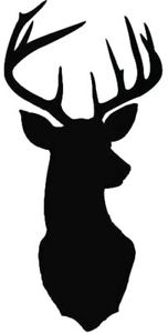 152x300 Stag Stencil Stag Head Silhouette Home Decor Wall Art Craft