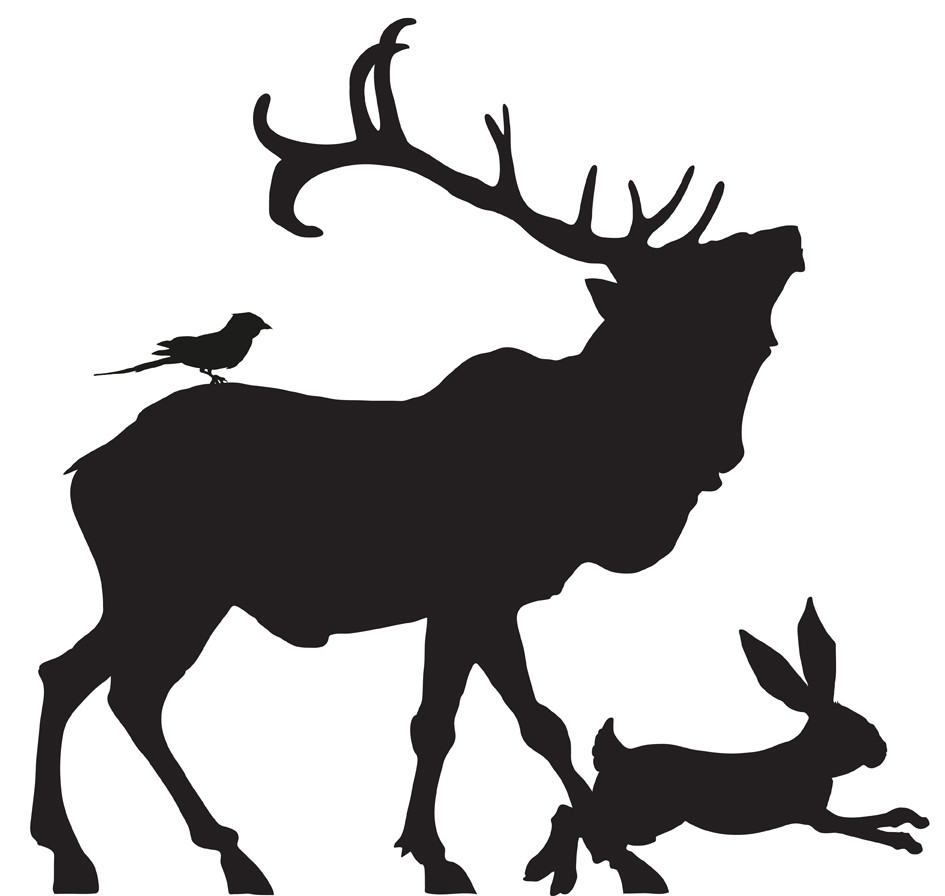 945x896 Stag Silhouette Free Download Clip Art On Picturesque Silhouettes