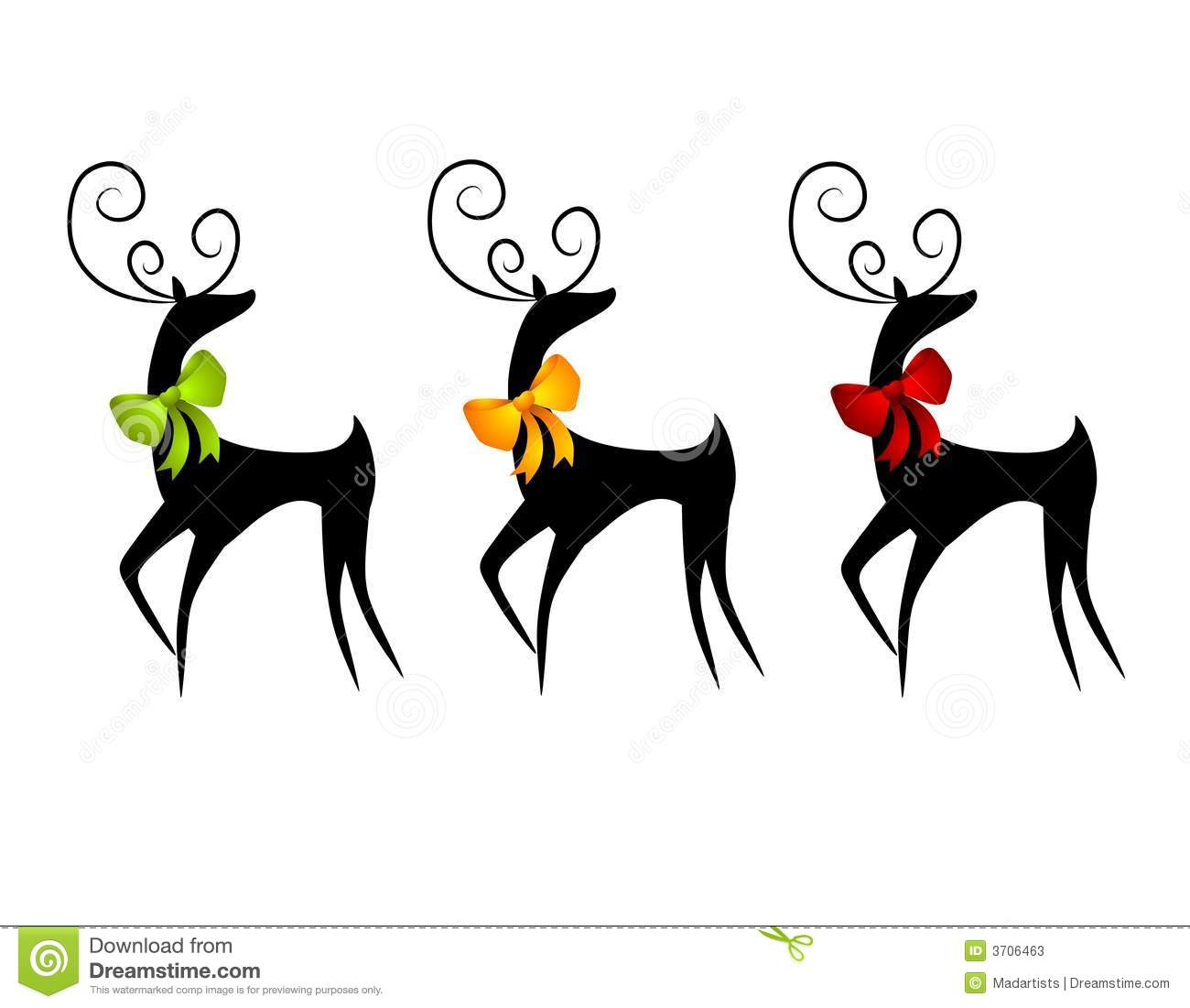 1300x1101 Stag Clipart Christmas