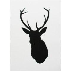 240x240 Deer Silhouette