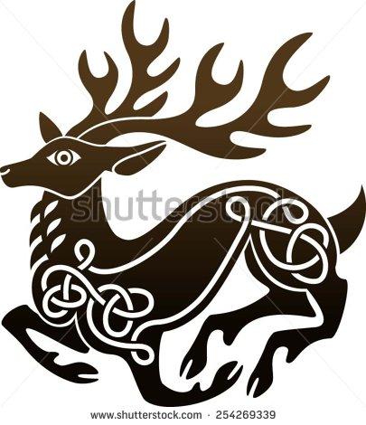 405x470 Red Deer Stock Vectors Amp Vector Clip Art Shutterstock Deer