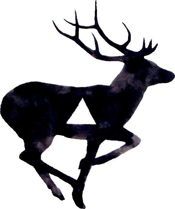 574x684 Deer Psychologie Art Illustrations, Painting Art