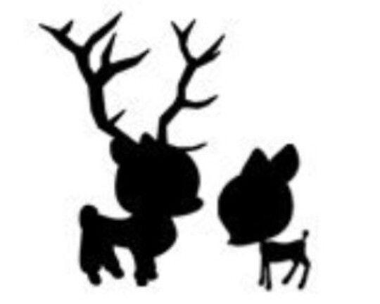 540x432 Buck And Doe Shadow Tattoos Tattoo